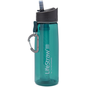 LifeStraw Go Water Filter Bottle 700ml, vert